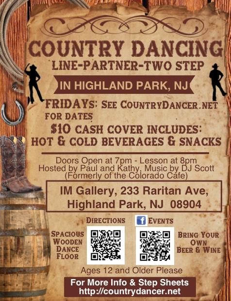 NJ Country Line Dances - CountryDancer net